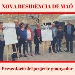 Presentació Projecte guanyador Concurs arquitectònic de la futura residència de Maó PSOE Maó