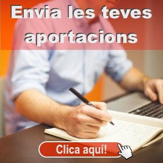 Incorpora't als grups sectorials o Envia les teves propostes