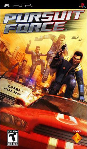 Pursuit Force PlayStation Portable IGN