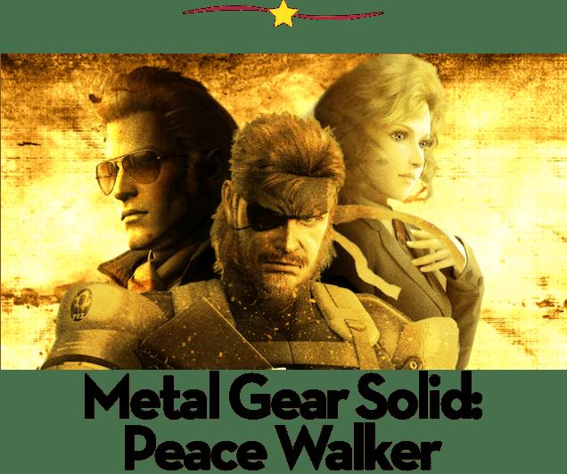 Juegos para PSP: Metal Gear Solid Peace Walker