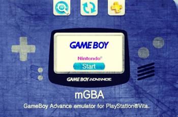 mGBA para PS Vita