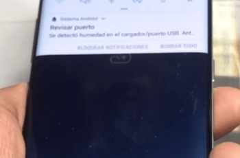 revisar puerto, se detectó humedad en el Galaxy S8