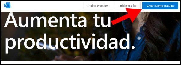 crear cuenta gratuita Hotmail