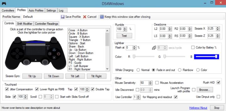 DS4Windows: mando de PS4 para PC por bluetooth