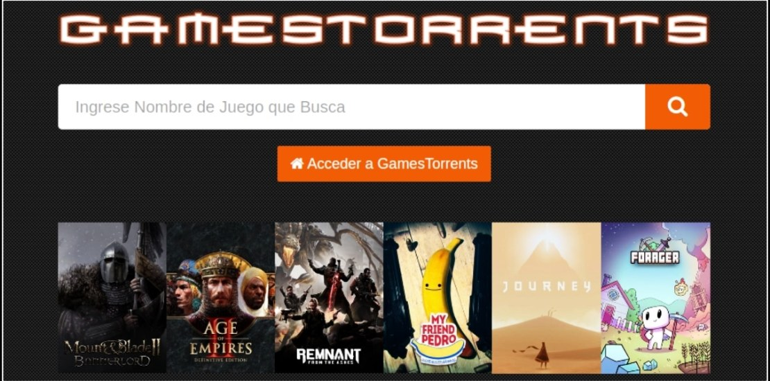 GamesTorrents no funciona