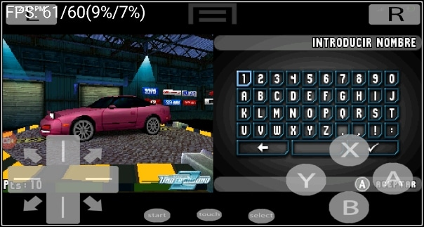 Need for Speed en NDS4Droid