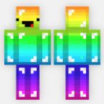 skin de arco iris