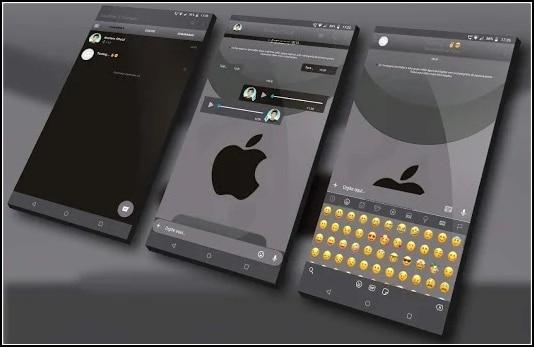 tema iOS para YoWhatsApp
