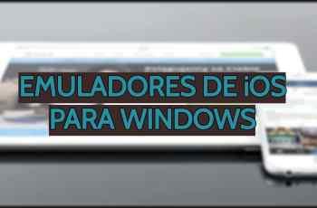 Emuladores de iOS para Windows
