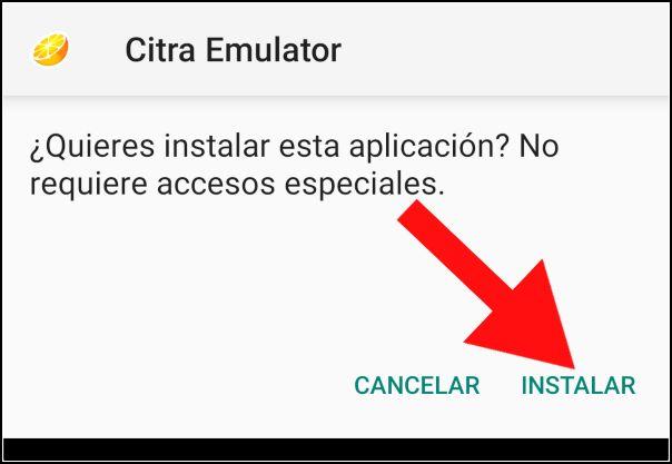 instalar Citra Emulator