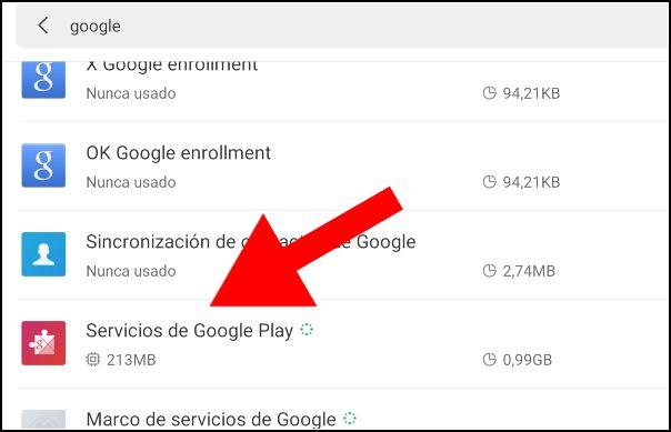Servicios de Google Play