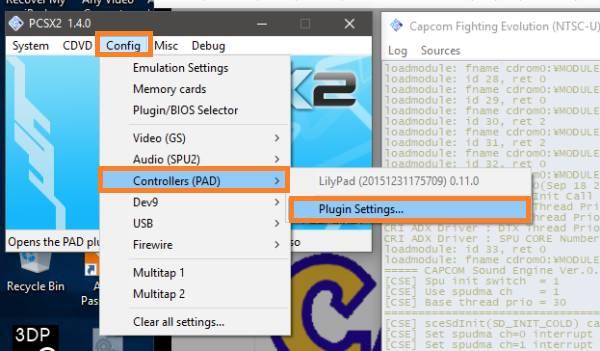 configurar controles PCSX2