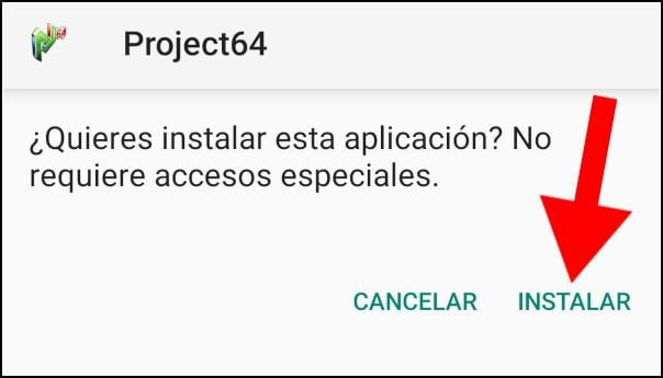 instalar Project64