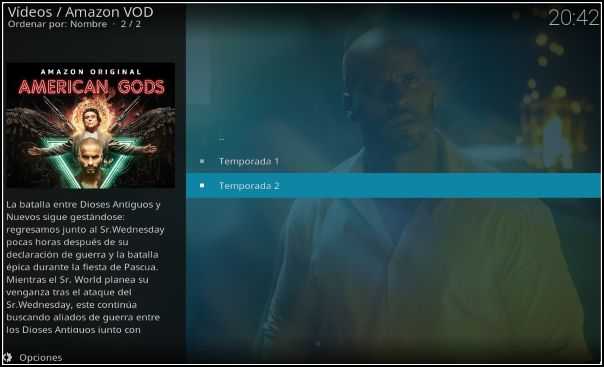 ver series Prime Video en Kodi