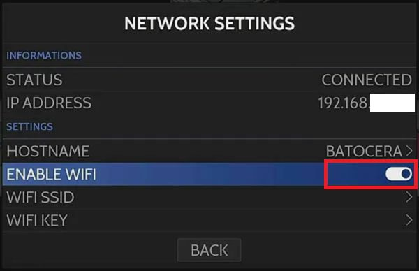 habilitar Wifi