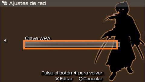 PSP clave wifi