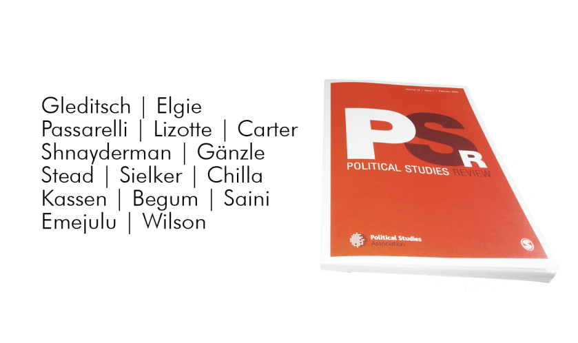 Political Studies Review issue 2/2019