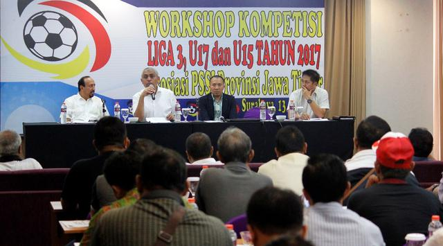 PSSI Jatim Manager Meeting Liga 3