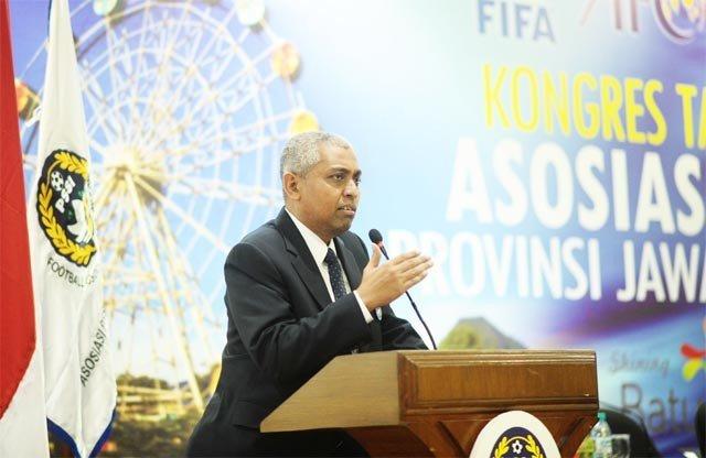 Ketua Umum Asprov PSSI Jatim, Achmad Riyadh UB, Ph.D