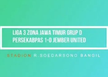 Highlights Persekabpas VS Jember United, 11 April 2018