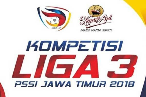 Enam Laga Tunda Liga 3 PSSI Jatim Selesai Akhir April