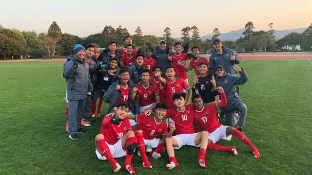 Timnas Indonesia U-16. FOTO: ISTIMEWA