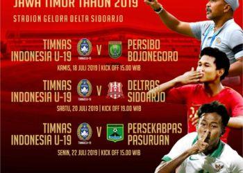 Timnas U-19 Diuji Tim Liga 3 Jatim