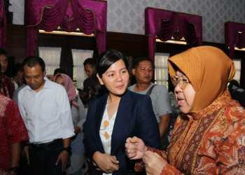Di Depan Sekjen PSSI, Risma Jamin Kesiapan Surabaya