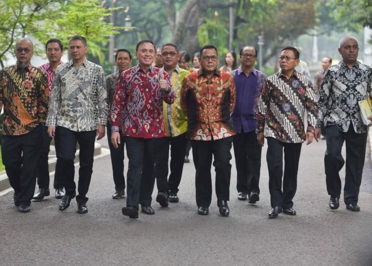 Presiden Minta PSSI Perbaiki Kompetisi