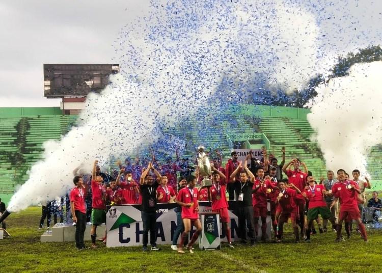 Jawa Timur Jawara Piala Soeratin U-17