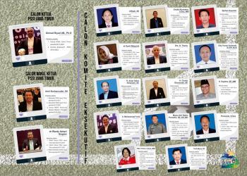 Calon Komite Eksekutif, Lengkap dari Unsur Masyarakat Sepakbola