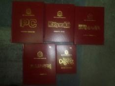 Beberapa koleksi majalah yang telah dijilid bagi tahun 2011-2012