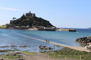 Marazion looking over to St Michael's Mount
