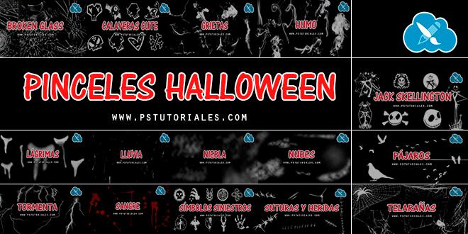 Pinceles para Photoshop (especial Halloween)