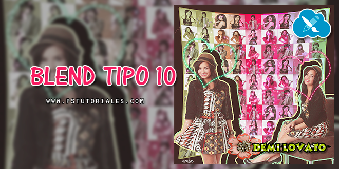 Blend Tipo 10 Photoshop Tutorial