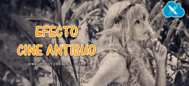 Efecto cine antiguo Photoshop Tutorial
