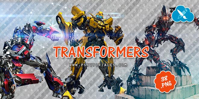 Transformers en png
