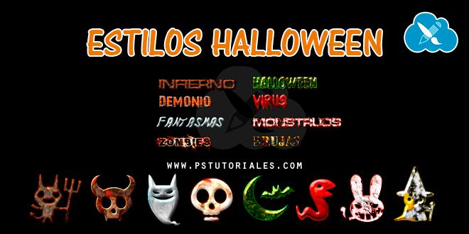 Estilos de Halloween – Pack 3