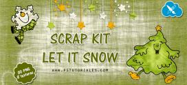 Scrap Kit Let it Snow