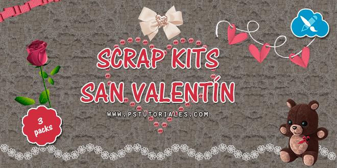 3 Scrap Kits de San Valentín