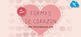 56 formas de corazones