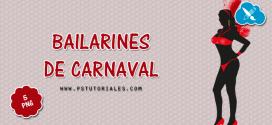 5 bailarines de Carnaval