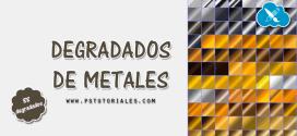 88 degradados de metales