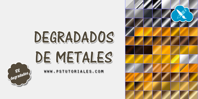 88 degradados de metales