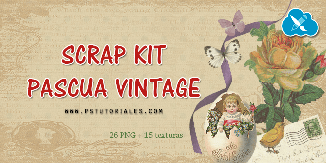 Scrap Kit Pascua Vintage