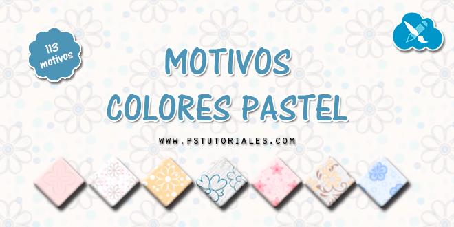 113 motivos de colores pastel