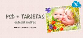 PSD Tarjetas Día de la Madre