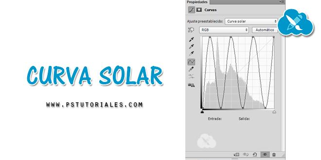 Curva solar en Photoshop