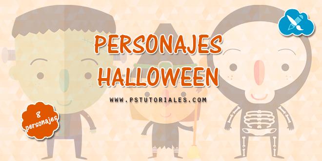 8 personajes de Halloween