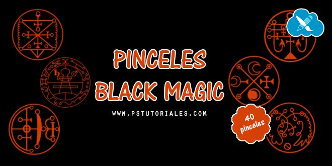 40 pinceles de magia negra